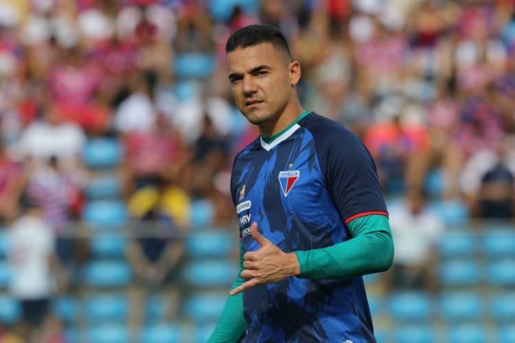 Felipe Alves é um dos principais jogadores do elenco do Fortaleza (Foto: FÁBIO LIMA/O POVO)