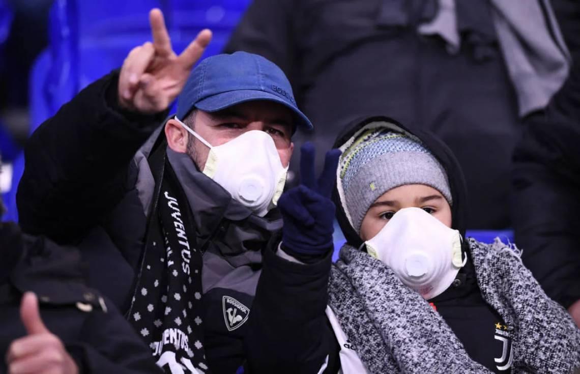 Coronavírus está afetando o futebol italiano