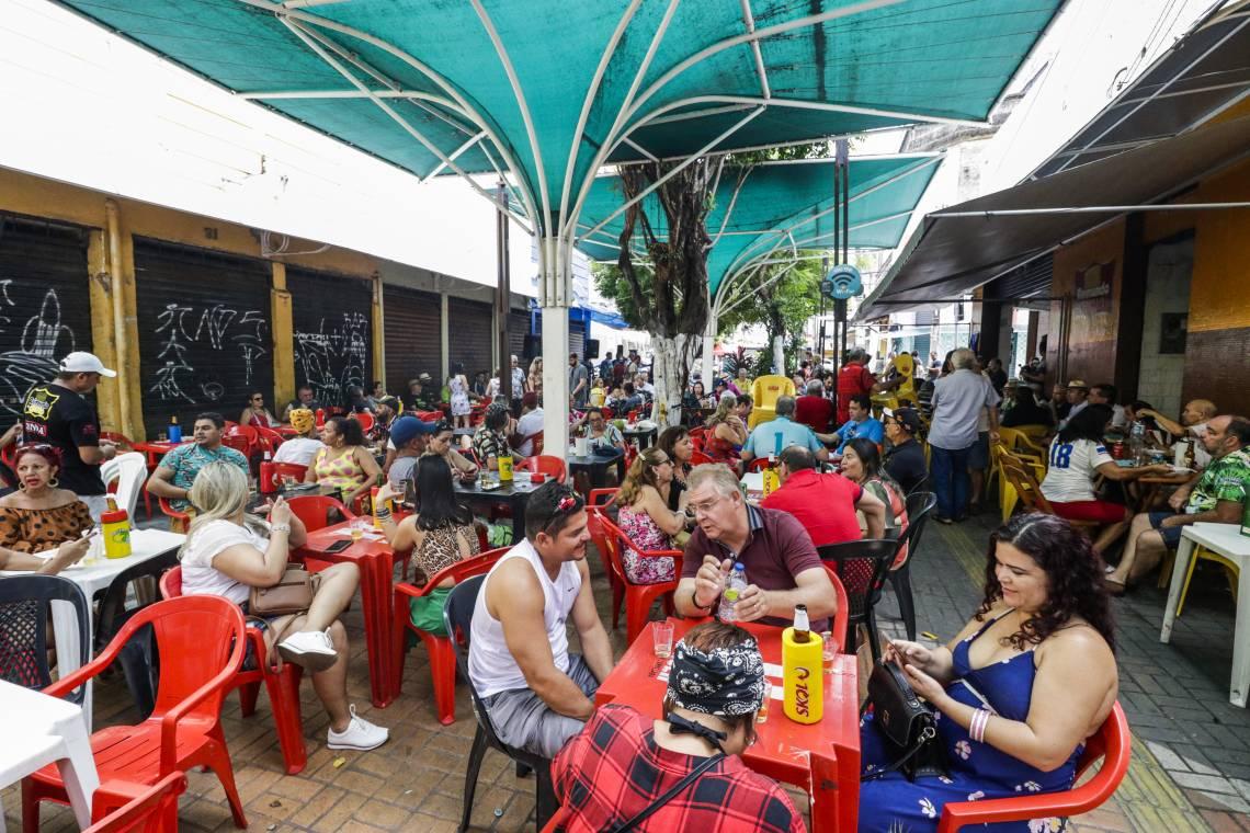 FORTALEZA, CE, BRASIL, 01-03-2020: A prefeitura de Fortaleza oficializa O Bar Raimundo dos Queijos como Patrimonio Turistico da cidade (Foto: Thais Mesquita/O POVO)