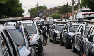 FORTALEZA, CE, BRASIL, 02-03-2020: Greve da polícia militar. Assinatura do acordo para o fim da greve dos policiais. (Foto: Mauri Melo/O POVO)