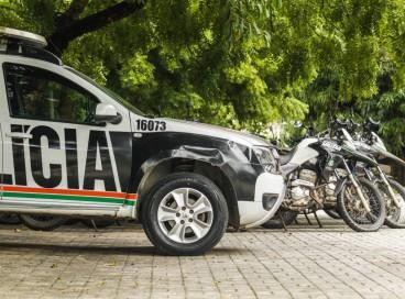 A Polícia capturou cinco suspeitos da Chacina de Caucaia: quatro homens que foram presos e um adolescente que foi apreendido.