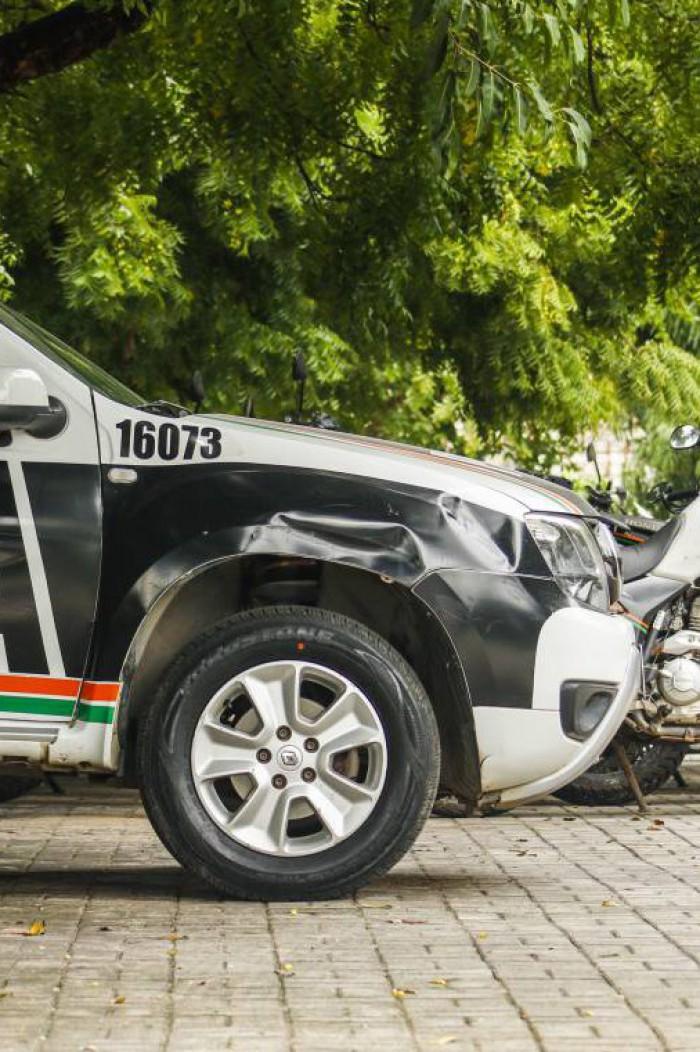 POLÍCIA já havia capturado cinco suspeitos da chacina em Caucaia (Foto: Thais Mesquita)