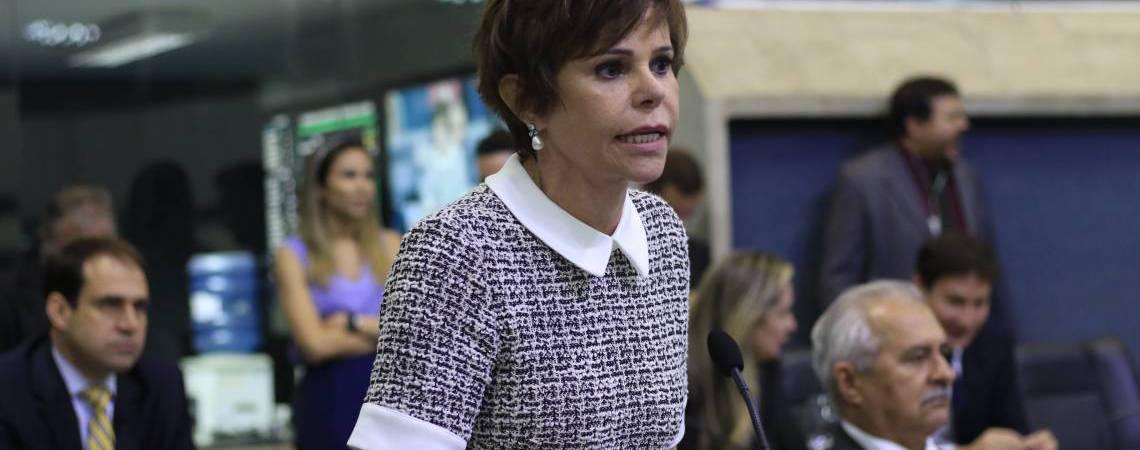 Deputada Patricia Aguiar (Foto: Deísa Garcêz/Especial para O Povo) (Foto: DEÍSA GARCÊZ/Especial para O POVO)