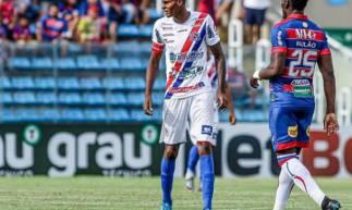 Cléber marcou o segundo gol do Barbalha diante do Fortaleza, no último domingo, 1
