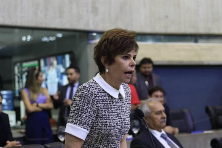Ação mira atuação da hoje deputada Patrícia Aguiar (PSD) como prefeita de Tauá (Foto: DEÍSA GARCÊZ/Especial para O POVO)