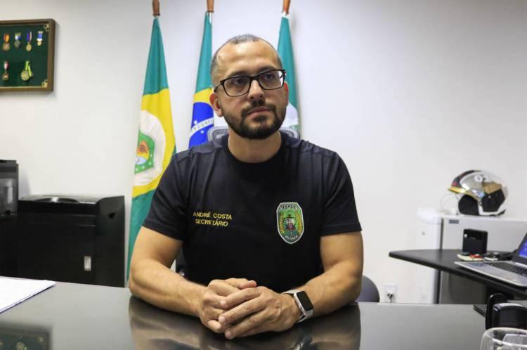 André Costa, atual secretário da Segurança do Ceará