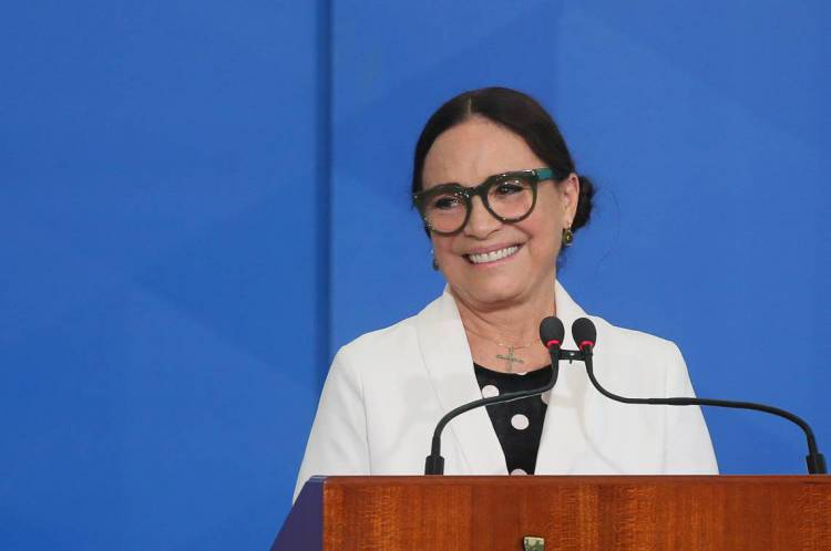 Brasilia, 04 de março de 2020, Cerimonia de  posse da no Secretária Especial da Cultura do Ministério do Turismo, Regina Duarte