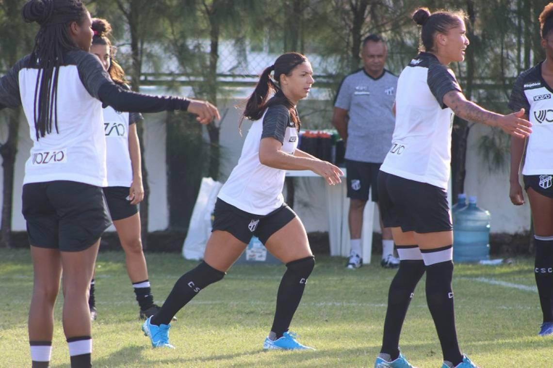 Alvinegras realizam preparação para Campeonato Brasileiro A-2 em Porangabuçu