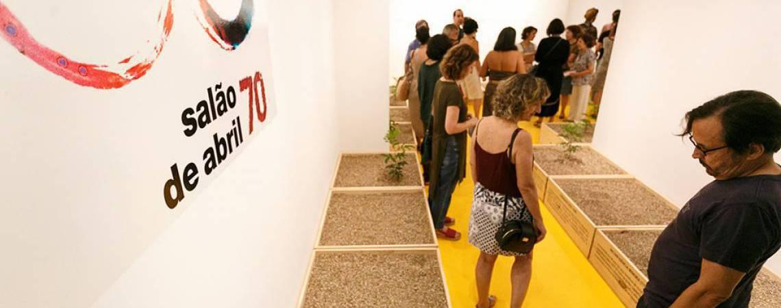 71ª mostra do Salão de Abril tem programação virtual (Foto: Nicolas Leiva)