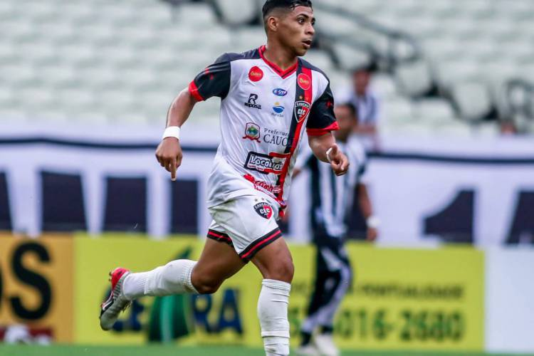 Vitor Jacaré pode estrear pelo Ceará no Nordestão  (Foto: Pedro Chaves)
