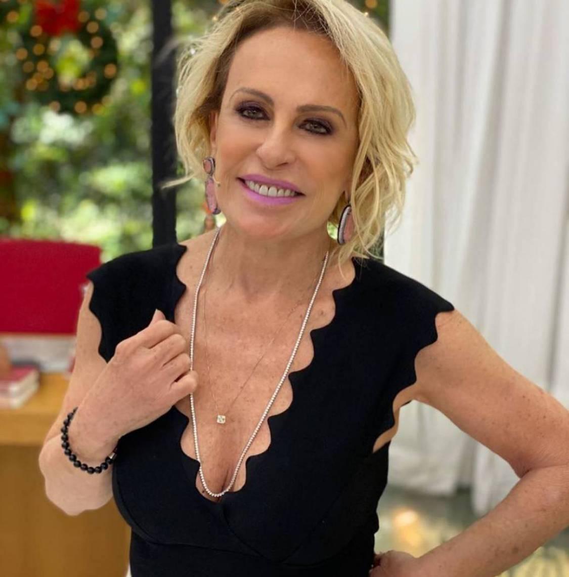 Ana Maria Braga fará uma participação de 15 minutos no programa da Fátima Bernardes