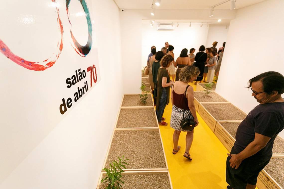 Seleção de trabalhos artísticos da 71ª mostra do Salão de Abril está com inscrições abertas.