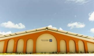EUSÉBIO, CE, BRASIL, 06-03-2020: Fachada do novo salão da Testemunhas de Jeová. Religião testemunha de Jeová. (Foto: Sandro Valentim/O POVO)