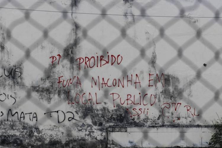 CONFLITOS entre facções se intensificaram durante crise de saúde pública (Foto: BÁRBARA MOIRA)
