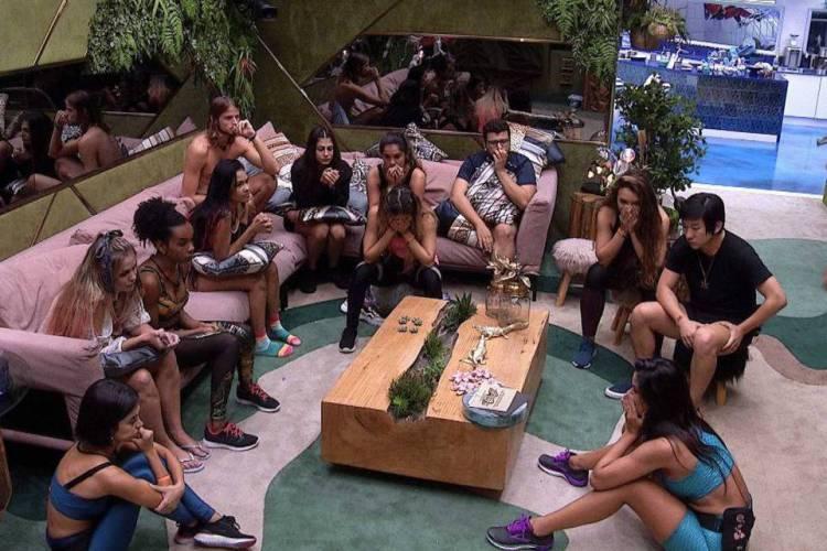 Tradicionalmente, a Globo não revela aos participantes nada do que acontece no mundo externo (Foto: Reprodução/Gshow)