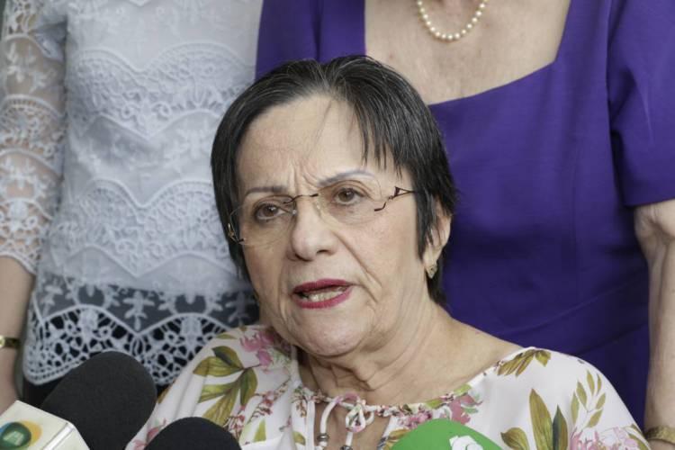 Maria da Penha, Bio-farmaceutica. Comemoração do Dia Mulher, na Casa da Mulher Brasileira (Foto: MAURI MELO/O POVO)
