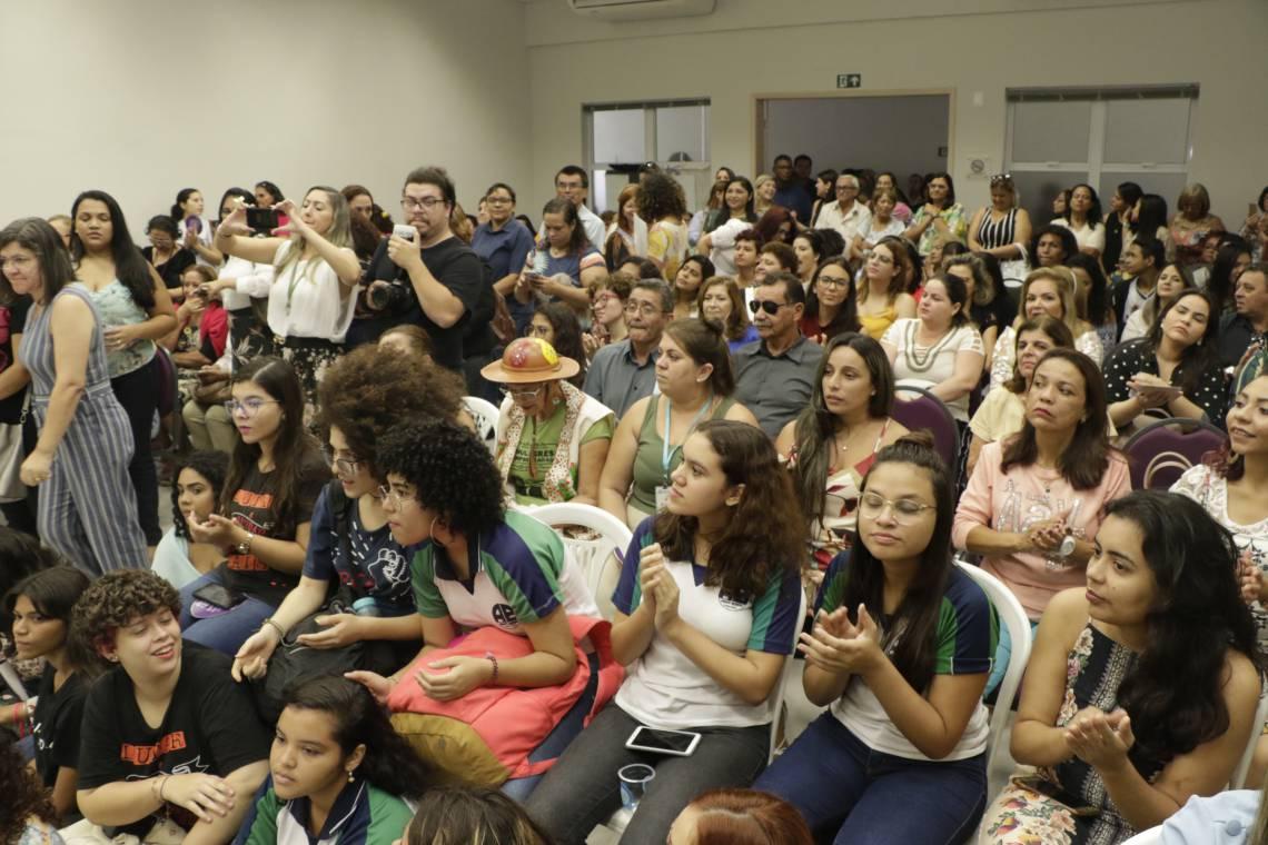 FORTALEZA, CE, BRASIL, 06-03-2020: Comemoração do Dia Mulher, na Casa da Mulher Brasileira, no Pan Americano. (Foto: Mauri Melo/O POVO).
