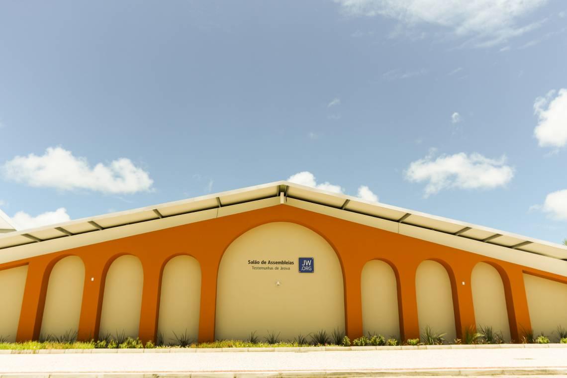 EUSÉBIO, CE, BRASIL 06-03-2020: Apresentação do novo Salão da Testemunhas de Jeová  (Foto: Sandro Valentim/O POVO)