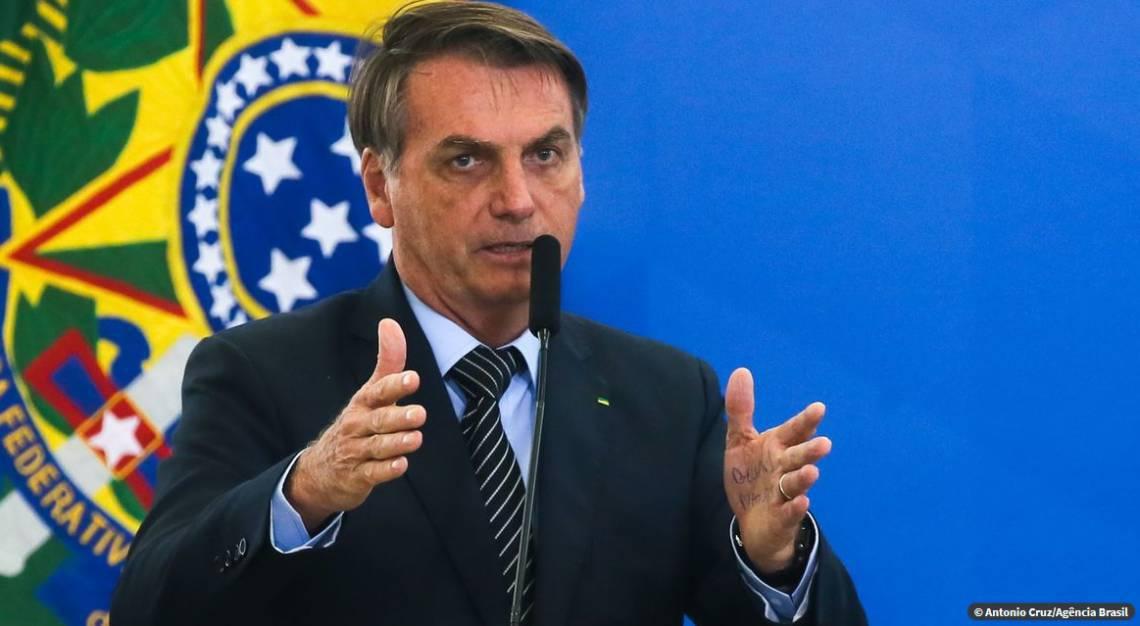 """Resultado de imagem para """"Participem"""", diz Bolsonaro sobre protestos do dia 15"""