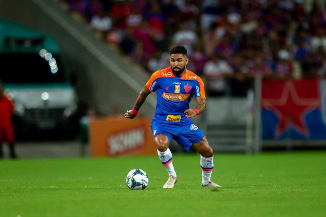 Romarinho, atacante do Fortaleza, ainda não marcou nenhum gol na temporada 2020