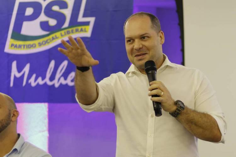 FORTALEZA, CE, BRASIL 08-03-2020: deputado federal Heitor Freire (PSL-CE) (Foto: Sandro Valentim)