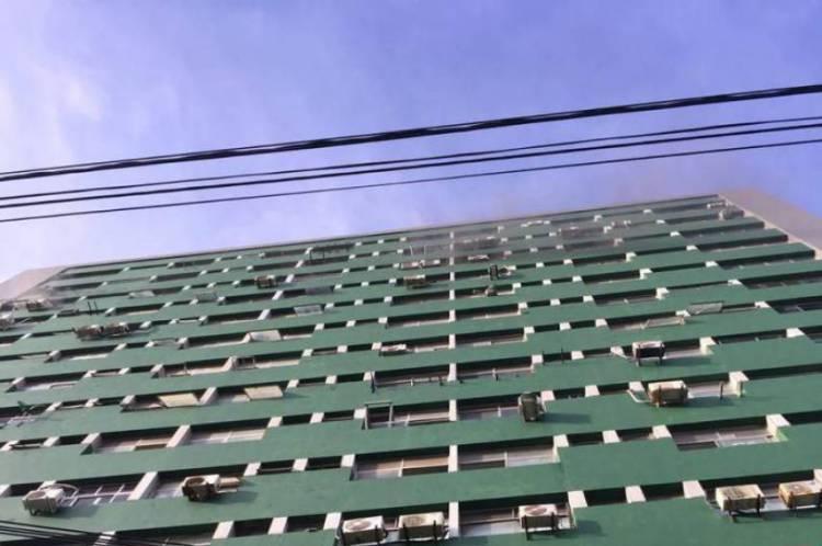 Incêndio em edifício no Centro de Fortaleza
