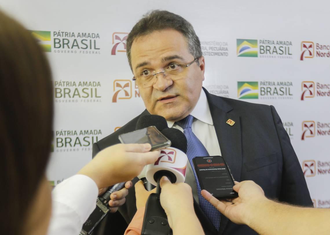 Romildo Rolim é o presidente do BNB (Foto: Sandro Valentim/O POVO) (Foto: Sandro Valentim 9/3/2020)