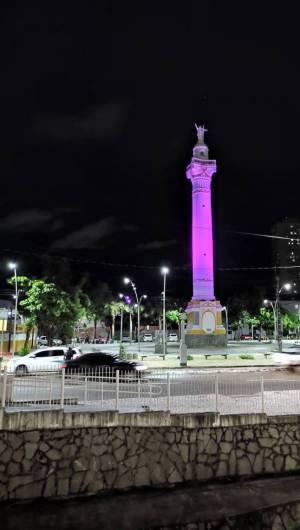 Praça do Cristo Redentor (Foto: Bemfica de Oliva/ESPECIAL PARA O POVO)
