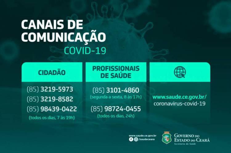 A população pode ligar para os números 3219-5973, 3219-8582 e 98439-0422