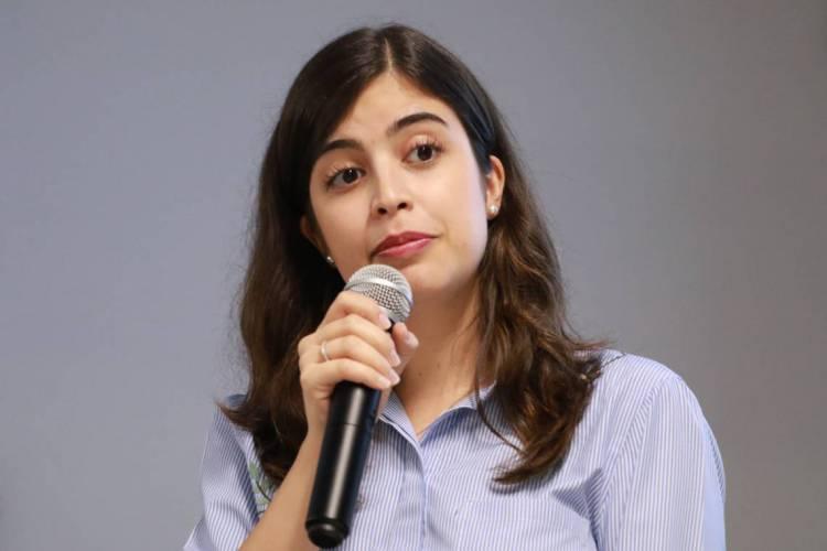 Tabata Amaral é autora (Foto: Agência Câmara)