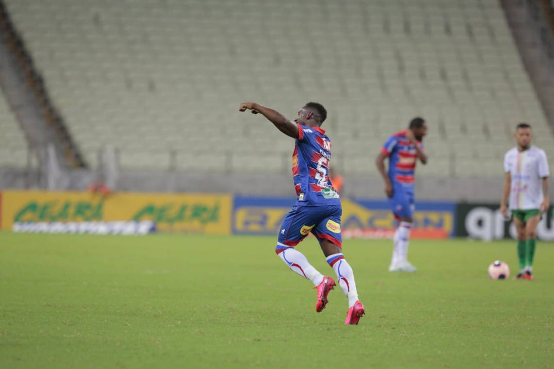 Diante do Pacajus, Yuri César marca primeiro gol com a camisa do Fortaleza