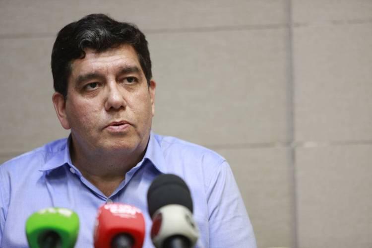 Dr. Cabeto, secretário estadual da Saúde (Foto: FCO FONTENELE)