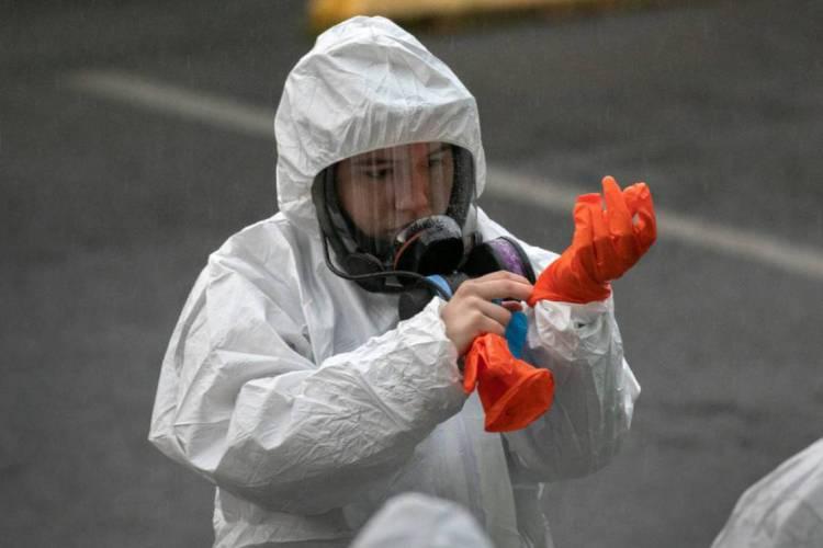 Russia começou a testar vacina contra o coronavírus  (Foto: JOHN MOORE / GETTY IMAGES NORTH AMERICA / AFP)