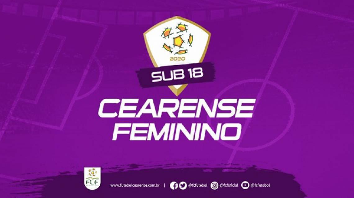 Campeonato Cearense Feminino Sub-18 será realizado a partir de maio