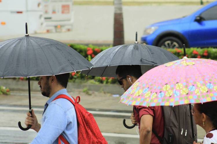 Chuva na capital cearense