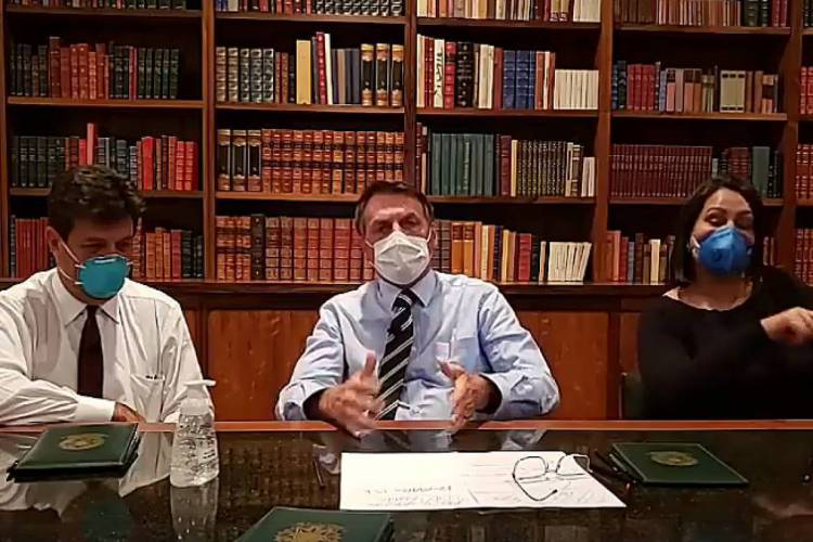 Sobe para sete o número de integrantes da comitiva do presidente Jair Bolsonaro com coronavírus (Foto: Reprodução)