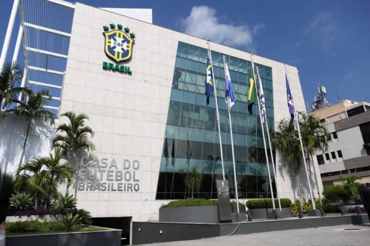 Sede da CBF, no Rio de Janeiro (Foto: Lucas Figueiredo/CBF)