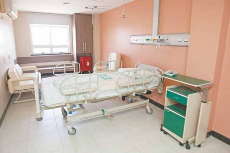 Hospital Leonardo da Vinci, localizado no Centro, será usado como retaguarda no atendimento aos casos de coronavírus  (Foto: Divulgação/Clínica Boghos Boyadjian)