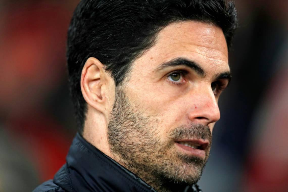 Mikel Arteta, técnico do Arsenal, testou positivo para COVID-19