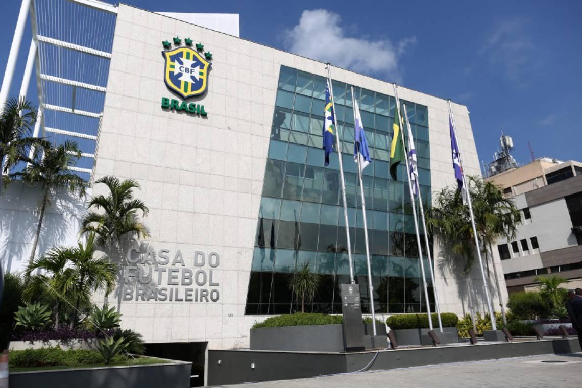 Sede da CBF, no Rio de Janeiro.