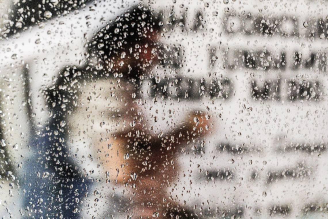 Conforme a Funceme, as chuvas registradas nesta quarta-feira devem ocorrer principalmente no início da manhã.