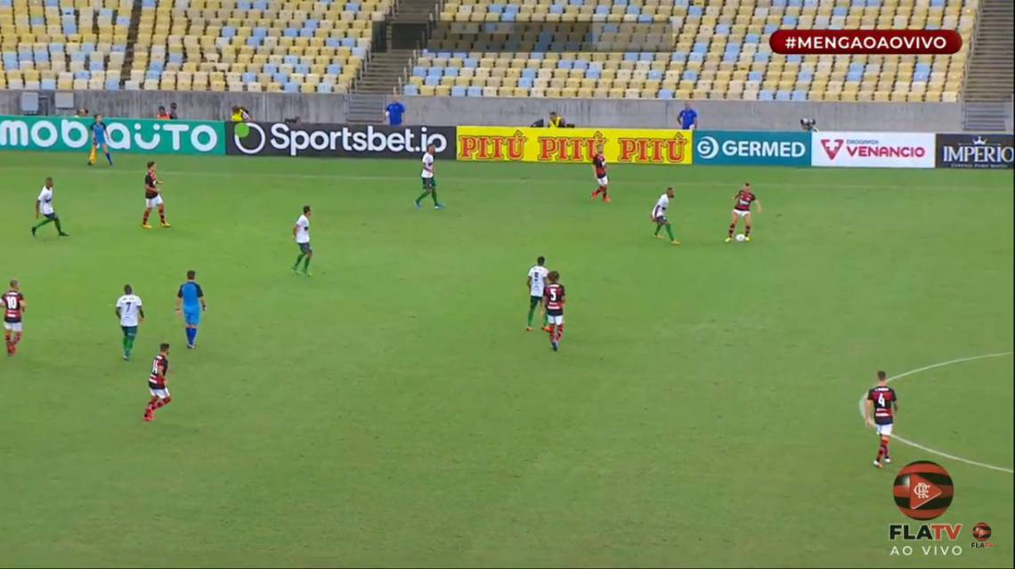 Flamengo e Portuguesa-RJ jogam pela Taça Rio, segundo turno do Campeonato Carioca