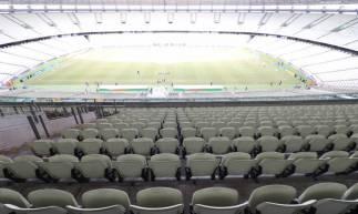 Castelão vazio para o jogo deste domingo entre Ceará e Sport