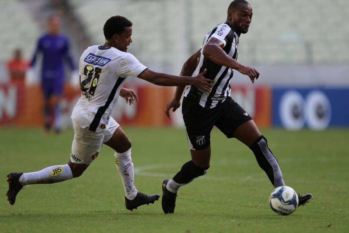 Ceará jogou pela última vez contra o Sport, em março, em duelo sem torcida, no Castelão