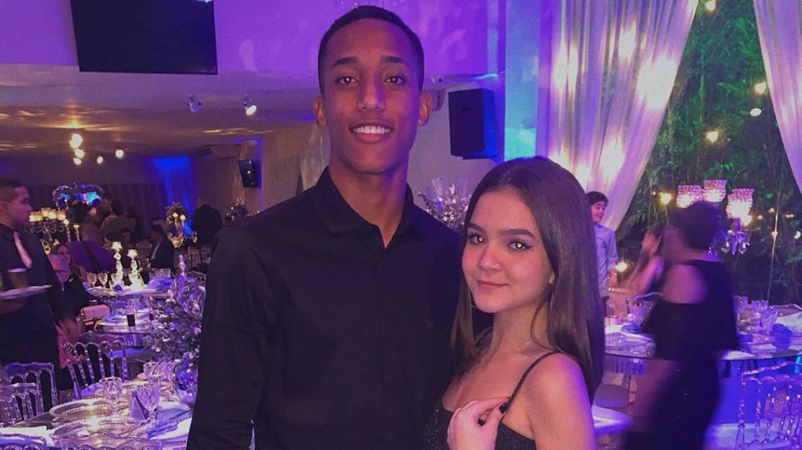 Mel Maia e namorado João Pedro