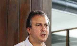 Camilo suspende taxa de contingenciamento da Cagece (Foto: DEÍSA GARCÊZ/Especial para O POVO)