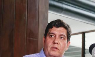Secretário da Saúde, Dr. Cabeto justifica a alta incidência pelo grande índice de testagem no Estado (Foto: DEÍSA GARCÊZ/Especial para O POVO)