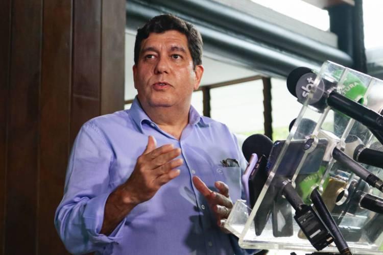 CABETO diz que Ceará prepara uma nova ferramenta no combate ao coronavírus (Foto: DEÍSA GARCÊZ/Especial para O POVO)