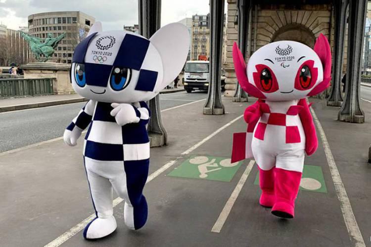 Mascotes da Olimpíadas Tóquio  (Foto: Reprodução/Twitter)