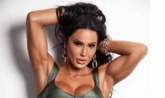 .Modelo e influenciadora fitness Gracyanne Barbosa (Foto: .Divulgação)